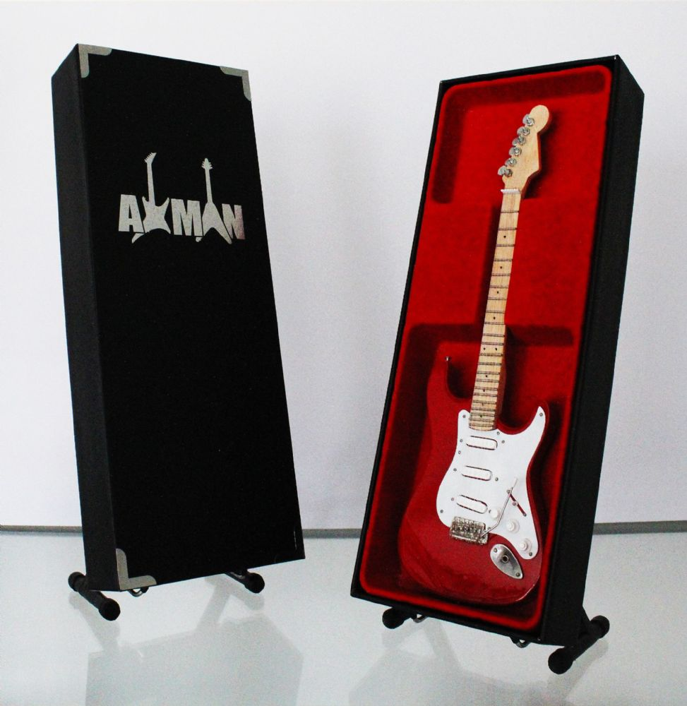 (Cream) Eric Clapton: Torino Red Strat - Miniature Guitar Replica (UK Seller)